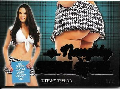 2020 Benchwarmer Hot For Teacher Tiffany Taylor Naughty School Girl Butt Card /2
