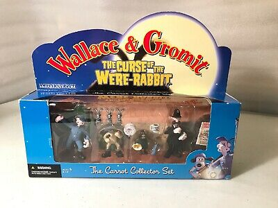 2005 Wallce & Gromit Unopened Curse Of The Were-Rabbit Carrot Set Mcfarlane