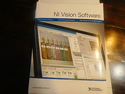 National Instruments 777859-09 Vision Development Module NI 777859