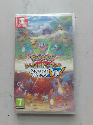 Jeu Switch Pokemon Donjon Mystere Dx ( Lire Le Descriptif ) Neuf