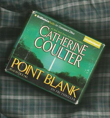 CATHERINE COULTER POINT BLANK Audio Book on CD UNABRIDGED 10 HOURS 9 CD's