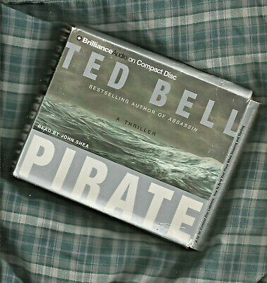 TED BELL PIRATE Audio Book on CD UNABRIDGED 6 HOURS 5 CD's