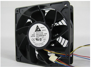 Original Delta QFR1212EHE 12038 12V 1.5A violent fan 6months warranty