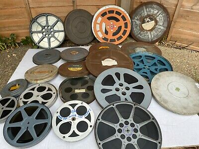 16Mm Films And Cans Vintage
