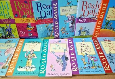 11 ROALD DAHL PB Books Collection Childrens Classics Matilda BFG Twits Boy Esio