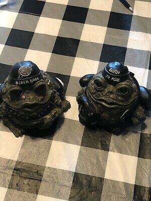 Toad Hollow Biker His And Her Toad Figures