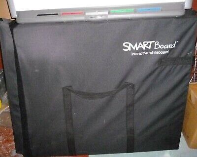 LARGE smart board projector, computer screen, cables and manuals