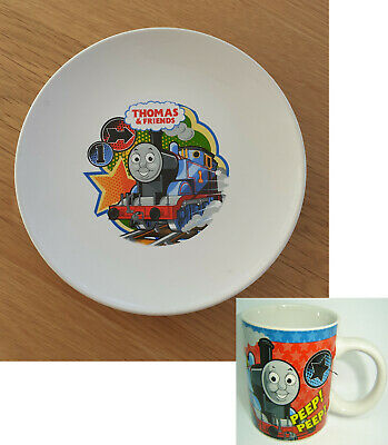 Childs Thomas And Friends Ceramic Mug And Plate From Kinnerton