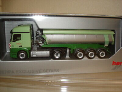"""Herpa: Mercedes Actros Streamspace 2.3 Thermomulden-Sz. """"Geiger""""  (940719)"""