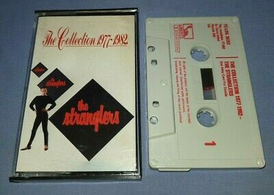 THE STRANGLERS THE COLLECTION 1977-1982 cassette tape album T7049