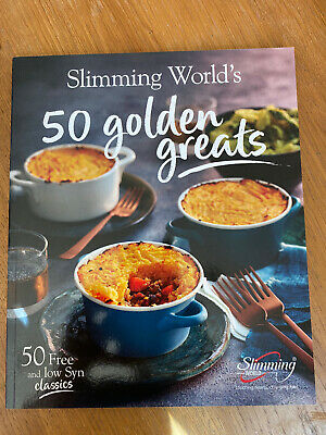 Slimming Worlds 50 Golden Greats Recipe Book New