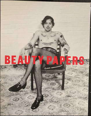 Beauty Papers Harry Styles Magazine And Rare Poster NEW