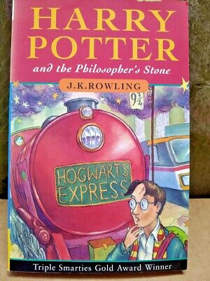 Harry Potter and the Philosopher's Stone 1st Edition PaperB Book 97 JK Rowling 3