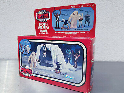 Star Wars Hoth Wampa Cave / Vintage / Kenner Micro Collection 1984 / MMP