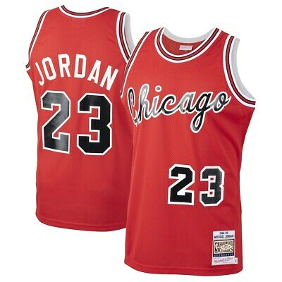 Men's Chicago Bulls MIchael Jordan Mitchell Throwback Basketball Shorts Jersey