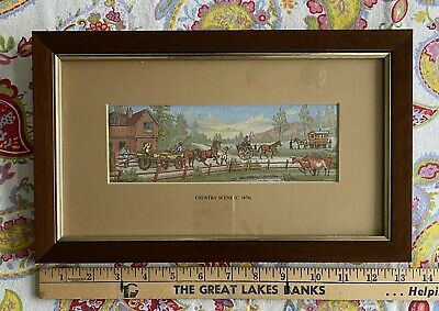 Cashs Woven Picture The Country Scene Framed