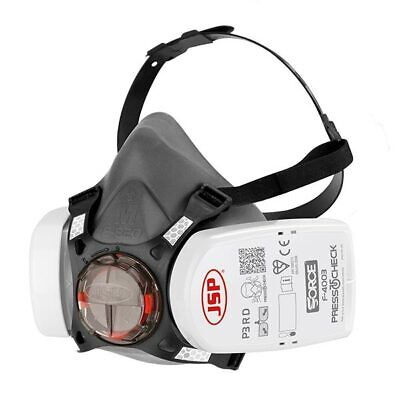 JSP Force 8 Mask Respirator with P3 PressToCheck Filters Medium SEALED