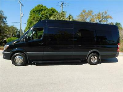 2017 Mercedes-Benz Sprinter LIMO INTERIOR 2017 Mercedes-Benz Sprinter Excellent  LIMO INTERIOR 5,196 Miles Black