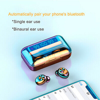 Bluetooth headset 5.0 Bluetooth Headset TWS Binaural Digital Practical