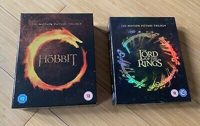 The Hobbit Trilogy & The Lord Of The Rings Trilogy BluRay Box Sets