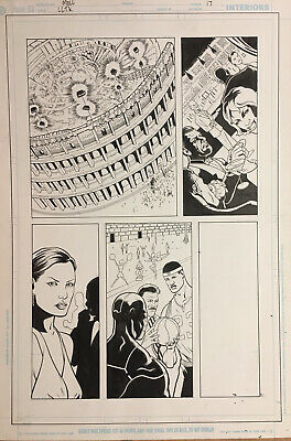 Original Lebron James Long Live The King Comic Book Art By Shawn Moll Page 17