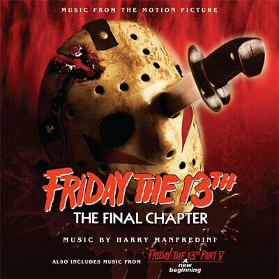 FRIDAY THE 13th: PARTS 4 & 5 ~ Harry Manfredini 2CD LIMITED