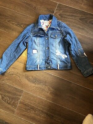 Girls Next Denim Jacket Age 7-8yrs