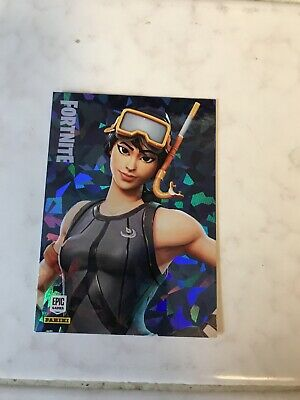 Snorkel Ops Cracked Ice Fortnite Card