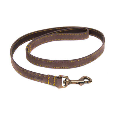 New Barbour Leather Dog Lead Brown - BANK HOLIDAY EVENT!
