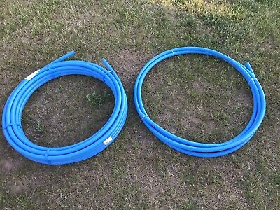 25mm MDPE Blue Mains Water Pipe