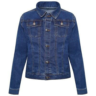 NEW Kids Ex Store Girls Light Denim Blue Jean Jackets Coats Years Months Jacket
