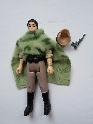 Vintage Star Wars  Princess Leia Endor Poncho Loose Figure
