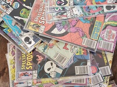 The Spectacular Spiderman Comic Lot