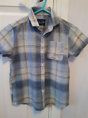 Next Boys Summers Smart Shirt Age 8 Years Good Condition worn once
