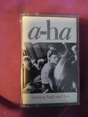 aha a-ha Hunting High and Low Album - Music Cassette
