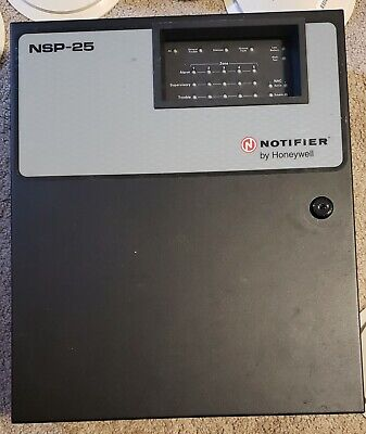 Notifier NSP-25 Fire Alarm Control Panel