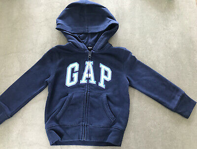 Girls Gap Zip Up Hoodie Age 4-5 Years Exc Con Next Day Postage