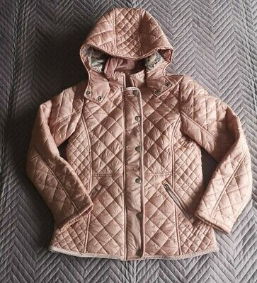 Girls Pink NEXT Quilted Jacket Age 11 Years
