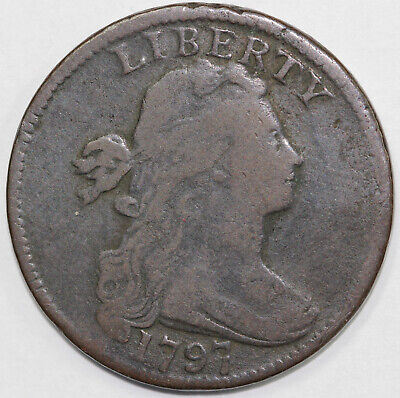 1797 1c Draped Bust Large Cent
