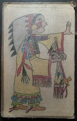 ORIGIONAL NATIVE LEDGER DRAWING. Late 1800s Early 1900s. One of Two.