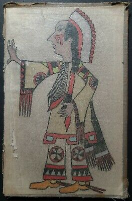 ORIGIONAL NATIVE LEDGER DRAWING. Late 1800s Early 1900s. Two of Two.