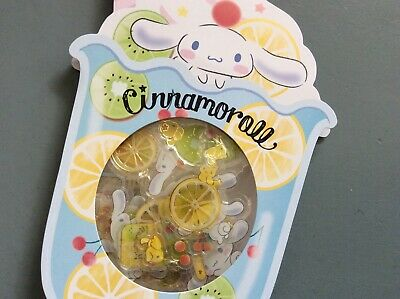 Sanrio Cinnamoroll Fruit Candy Stone Sticker Flake Set * Missing 1 pc only *