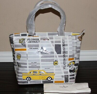 💚 Kate Spade Yellow Taxi Cab New York City Francis Shoulder Tote Bag Purse ~NWT
