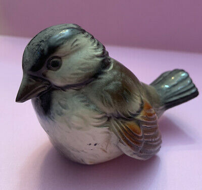 Vintage Goebel Germany Porcelain Bird Figurine Audubon Bird Lover