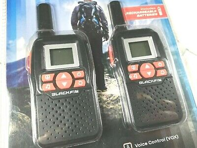 Blackfin Walkie-Talkie Solar Power Kit WTK-2002S Set of 2