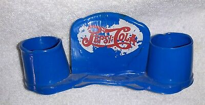 1940'S Pepsi Toothpick Holder Rare In This Condition Seldom Seem In Daylight