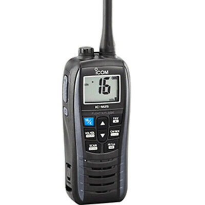 Icom M25 Floating VHF - Metallic Gray - 5W