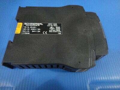 NEW SCHMERSAL Safety relay  AES 1235