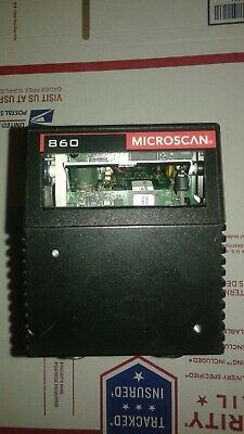 MICROSCAN FIS-0860-0001G with Fixed-Mount Bracket Barcode Scanner MS-860