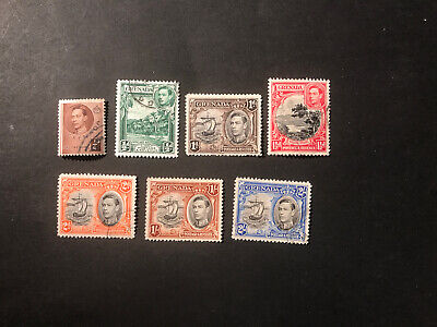 Stamps - Bc Kg6 Grenada Used (7) Mix Cond & Vals All Show